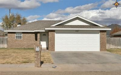 Clovis NM Single Family Home For Sale: $148,500