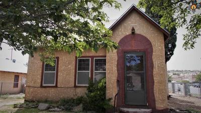 Sierra County Single Family Home Under Contract-Don't Show: 615 Post