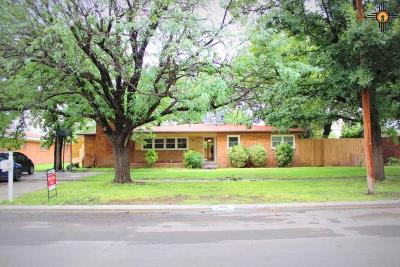 Lovington Single Family Home For Sale: 1010 W Avenue H
