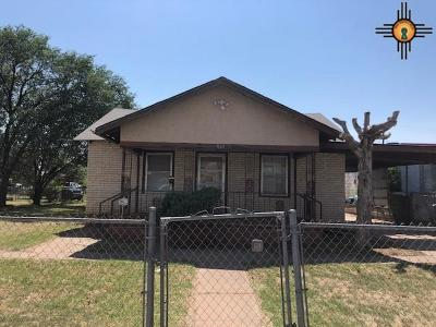 Clovis NM Single Family Home For Sale: $32,900