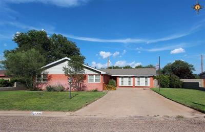 Portales NM Single Family Home For Sale: $179,900