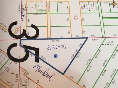 Hobbs Residential Lots & Land Under Contract-Don't Show: Marland