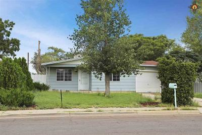 Hobbs Single Family Home Under Contract-Don't Show: 1704 E Snyder