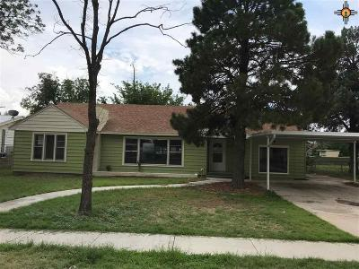 Lovington Single Family Home For Sale: 707 Ave H
