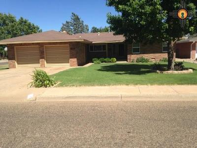 Curry County Single Family Home For Sale: 3115 Axtell