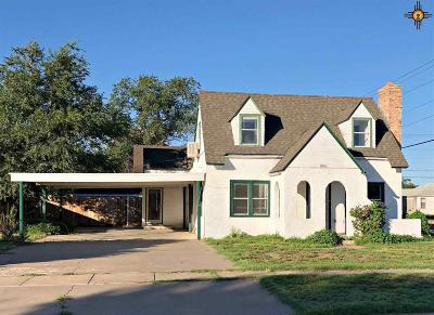 Roosevelt County Single Family Home For Sale: 900 S Abilene