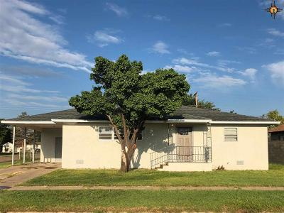 Portales NM Single Family Home For Sale: $108,000