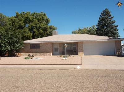 Clovis NM Single Family Home For Sale: $134,900