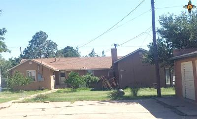 Portales Single Family Home For Sale: 925 S Globe Ave