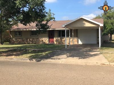 Tucumcari Single Family Home For Sale: 1801 S 6th