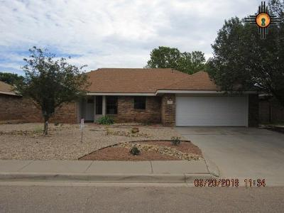 Clovis NM Single Family Home For Sale: $187,500