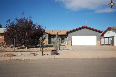 Clovis NM Single Family Home For Sale: $120,000