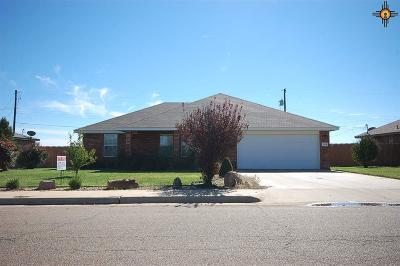 Clovis NM Single Family Home For Sale: $173,000