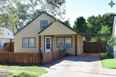 Curry County Single Family Home For Sale: 1308 N Lea