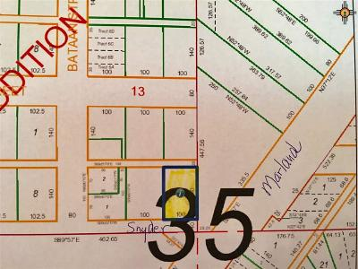 Hobbs Residential Lots & Land For Sale: Snyder