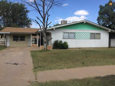 Clovis NM Single Family Home For Sale: $70,000