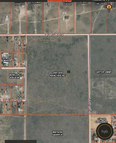 Lovington Residential Lots & Land Under Contract-Don't Show: Gum Street