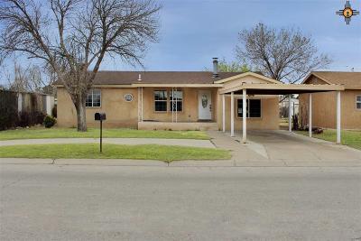 Lovington Single Family Home For Sale: 1205 W Jackson Ave