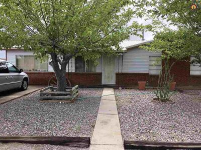 Truth Or Consequences NM Single Family Home For Sale: $135,000