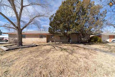 Portales Single Family Home For Sale: 1316 S Avenue A