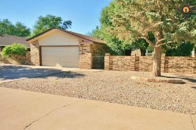 Clovis NM Single Family Home For Sale: $179,900
