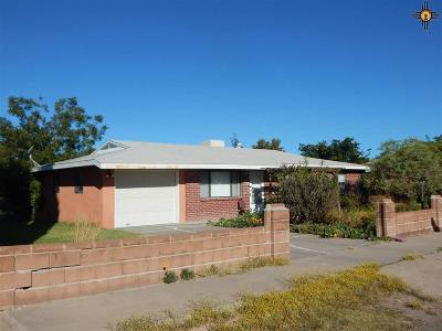 Deming Single Family Home For Sale: 1212 S Tennyson