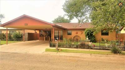 Clovis NM Single Family Home For Sale: $110,000
