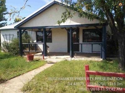 Melrose NM Single Family Home For Sale: $39,900
