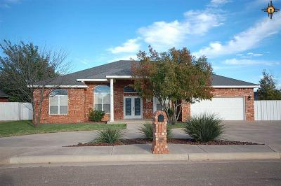 Clovis NM Single Family Home For Sale: $278,900