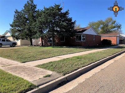 Tucumcari Single Family Home For Sale: 1901 S 4th St