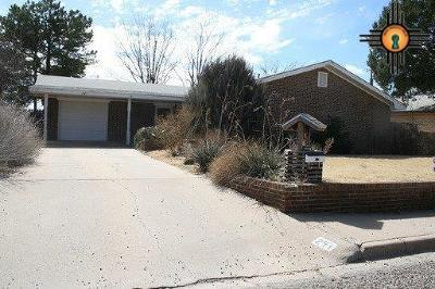 Portales NM Single Family Home For Sale: $129,000