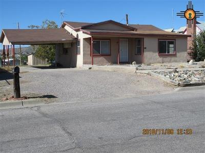 Sierra County Single Family Home For Sale: 712 Silver