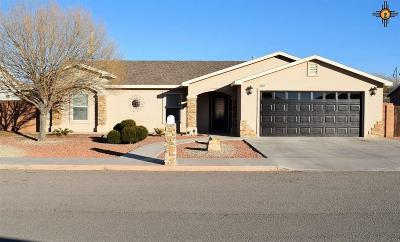 Deming Single Family Home For Sale: 2109 S Bryant Dr