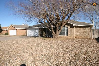 Clovis NM Single Family Home For Sale: $188,000