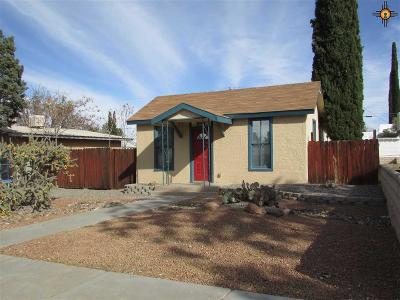 Deming Single Family Home For Sale: 319 S Lead St