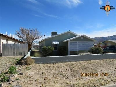 Sierra County Single Family Home For Sale: 707 Ivy