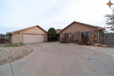 Portales Single Family Home For Sale: 2109 W Aspen