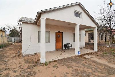 Deming Single Family Home For Sale: 116 N Iron