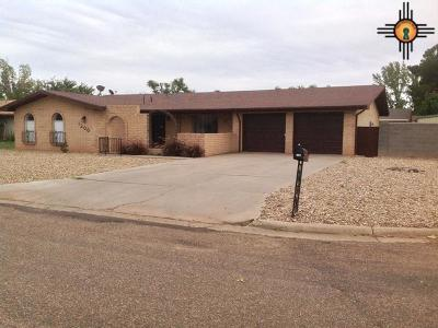 Portales Single Family Home For Sale: 1200 Libra Dr