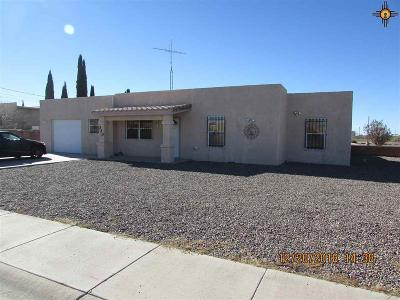 Deming Single Family Home For Sale: 320 Deming Del Sol Dr.