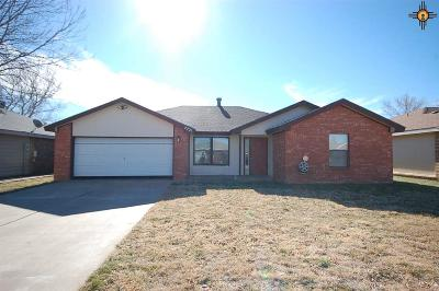 Clovis NM Single Family Home For Sale: $155,000