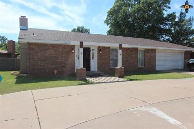 Clovis NM Single Family Home For Sale: $158,500