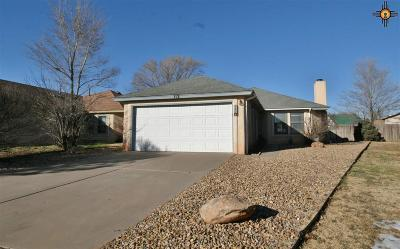 Clovis NM Single Family Home For Sale: $133,500