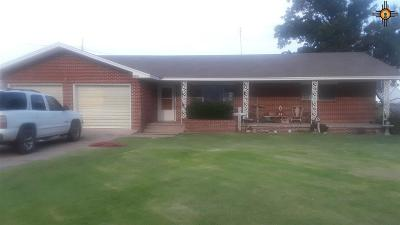 Portales NM Single Family Home Active, U/C-Take Back Ups: $165,000