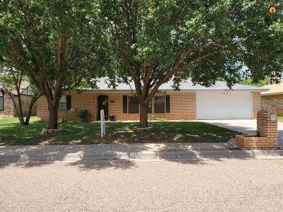 Clovis NM Single Family Home For Sale: $153,000