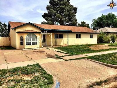 Tucumcari Single Family Home For Sale: 1708 S 6th St