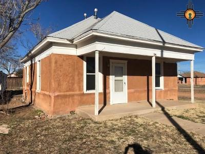 Tucumcari NM Single Family Home For Sale: $28,000