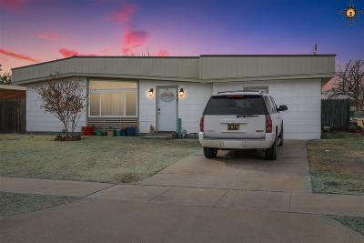 Hobbs Single Family Home Under Contract-Don't Show: 1837 N Penasco Dr.