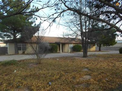Hobbs Single Family Home Under Contract-Don't Show: 4212 N Grimes