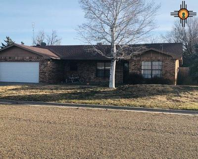 Portales Single Family Home Active, U/C-Take Back Ups: 2003 Boxwood